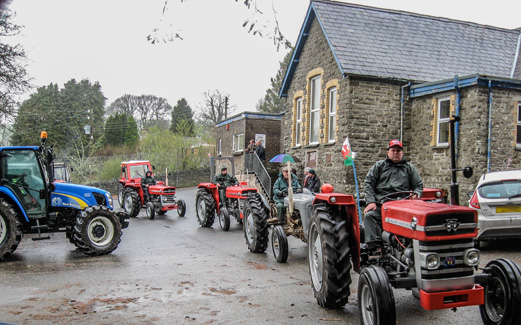 2014  Tregroes Tractor Run